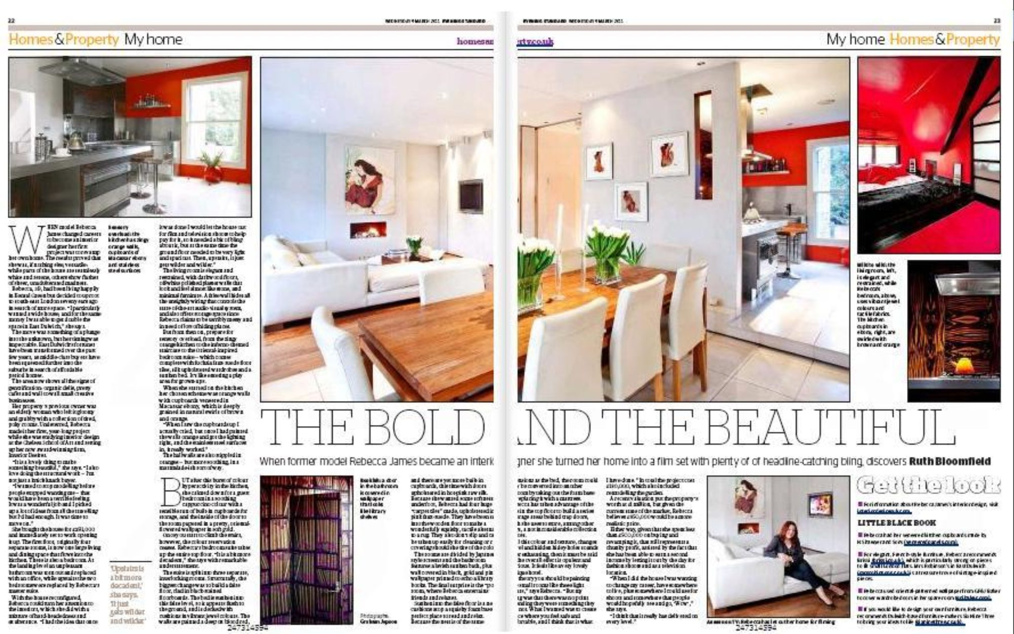 Page 3 Evening Standard Spread
