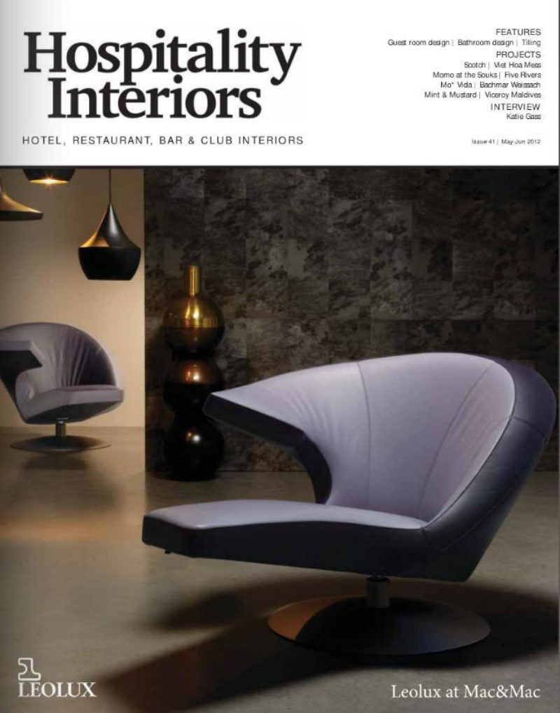 Hospitality Interiors May Jun 2012