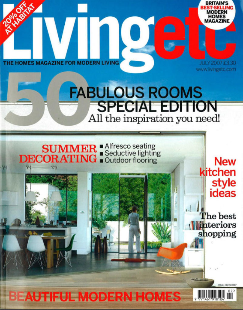 Living Etc July 2007 Cover