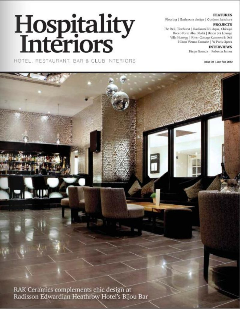 Hospitality Interiors Jan Cover Page