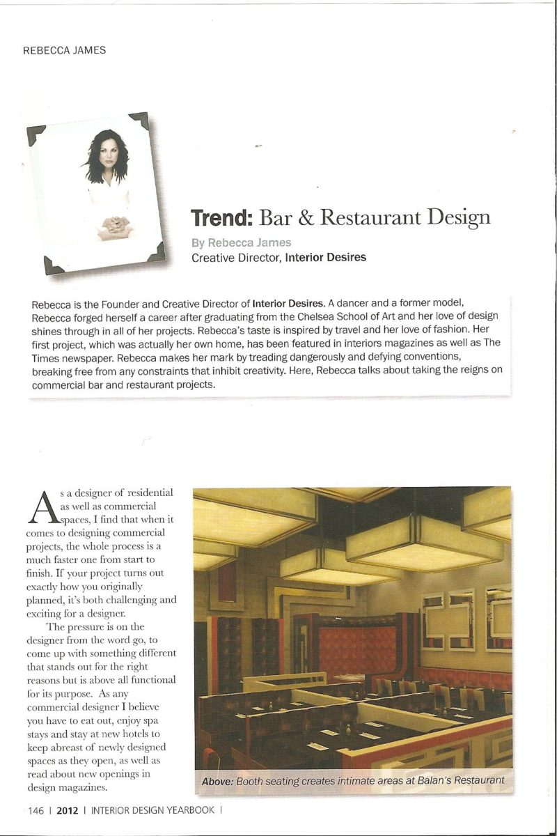Interior Design Yearbook2012 Scanned Image 2