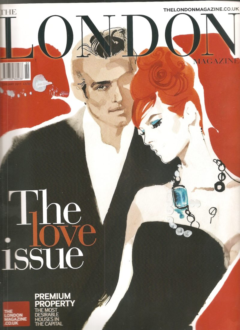 London Magazine Cover