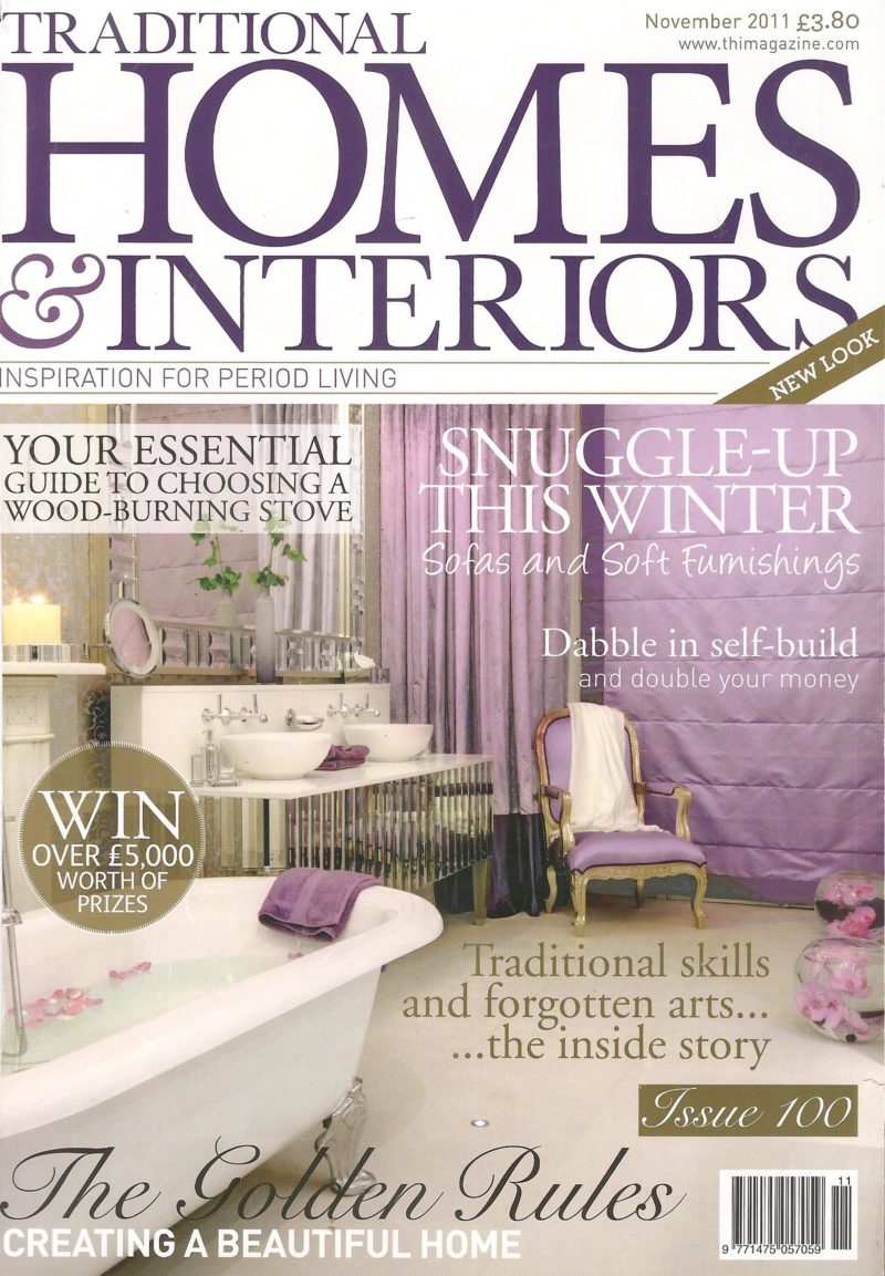 Traditional Homes Interiors Cover