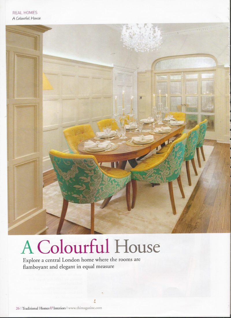 Traditional Homes Interiors Pg 26