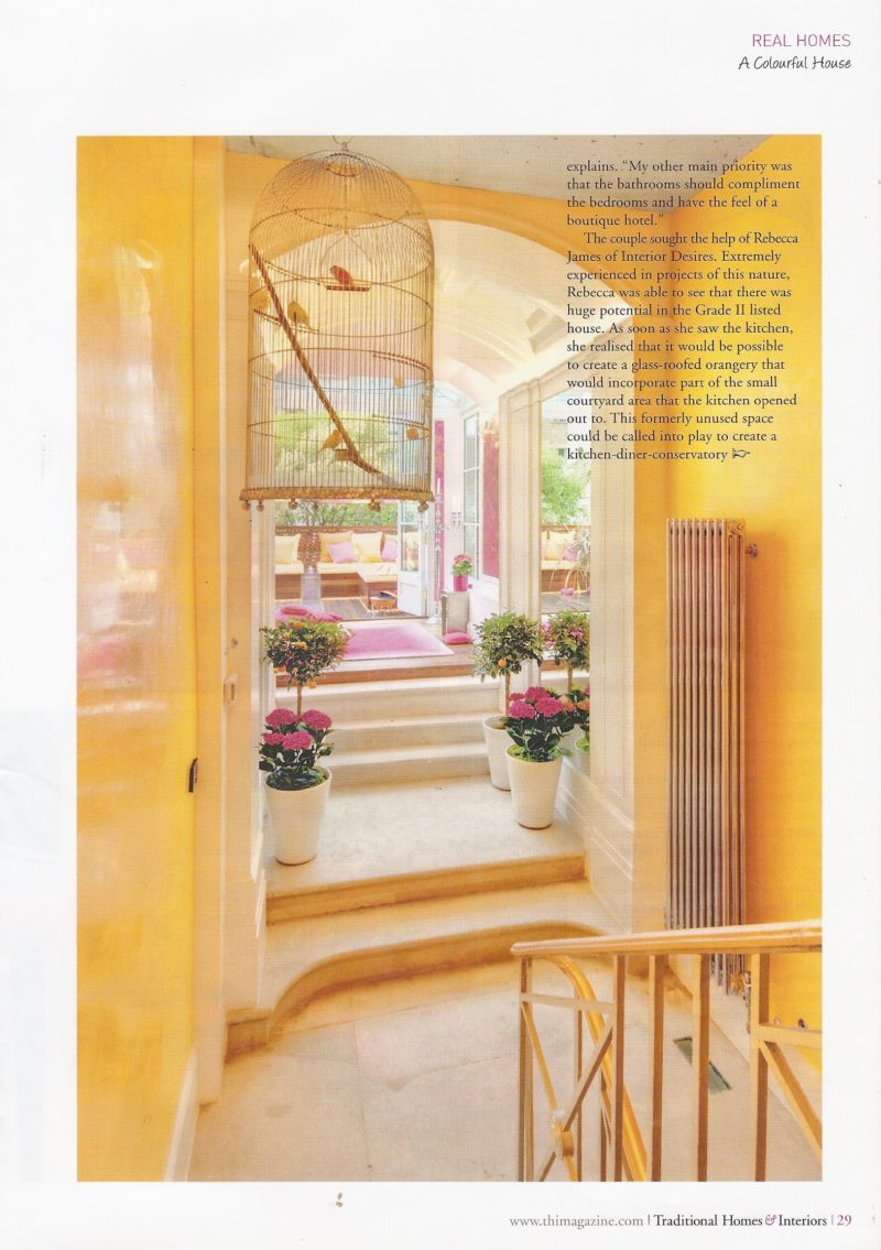 Traditional Homes Interiors Pg 29