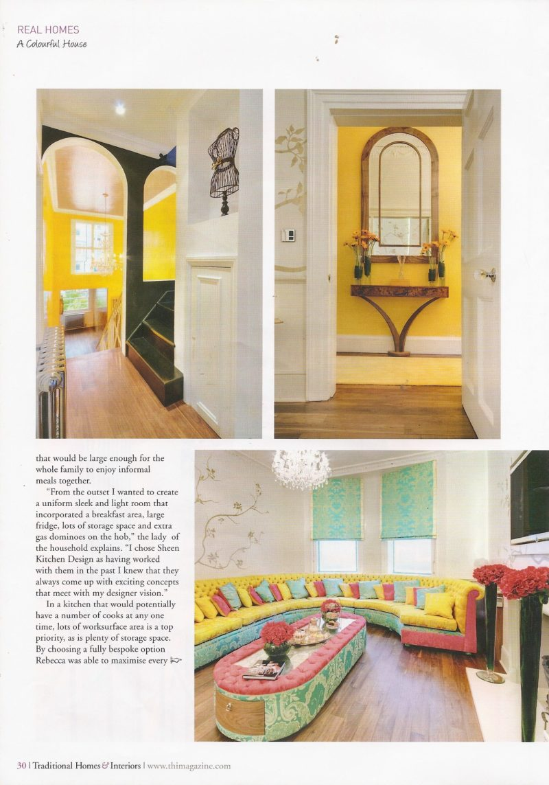 Traditional Homes Interiors Pg 30