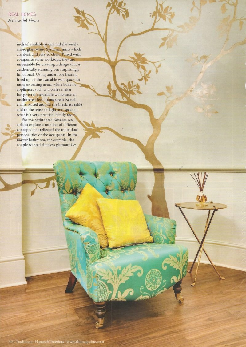 Traditional Homes Interiors Pg 31
